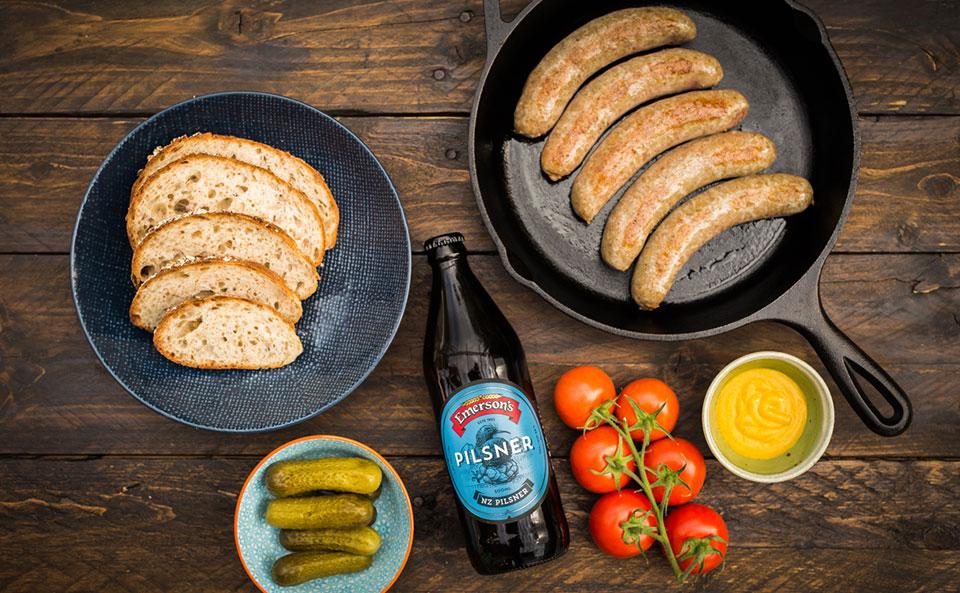Emerson's and Harrington's Create Ultimate Kiwi BBQ Sausage